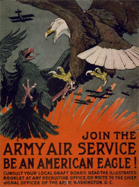 1918 Army Air Service recruitment poster