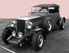 1929 Railton 4 litre