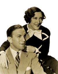 Burns and Allen circa 1934