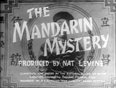 The Mandarin Mystery (1936) was the second Ellery Queen novel adapted to a feature film