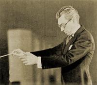 Dr. Frank Black conducting circa 1937