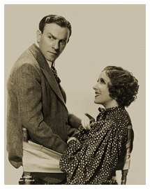 Burns and Allen publicity still for Paramount circa 1938