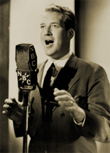 Burns and Allen's tenor of choice for the Grape-Nuts-sponsored seasons was Film crooner and actor Dick Foran