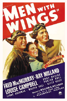 Somewhat overshadowed by Robin Hood that year, Men With Wings (1938) is reported to have been the first full Technicolor film to reach the big screen