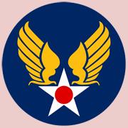 Original U.S. Army Air Forces' 'Hap Arnold' shield