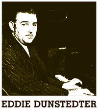 Eddie Dunstedter, at the keyboard in 1941, directed the Army Air Forces Orchestra as Major Ed Dunstedter for Wings to Victory