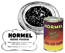 Hormel also promoted its Hormel Chili Con Carne over The George Burns and Gracie Allen Show