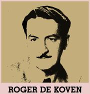 Roger De Koven circa 1941