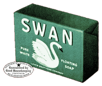 Lever Bros' Swan Soap sponsored Burns and Allen for three years