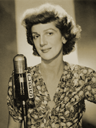 Early Radio's 'Queen of Mirth', Elvia Allman, was heard as as Gracie's 'horse-faced' pal, Tootsie Sagwell. Ms. Allman went on to appear on the Television rendition of The George Burns and Gracie Allen Program as Jane Adams