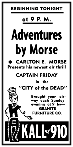 The Adventures by Morse Radio Program