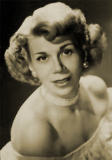 Bea Benadaret played neighbor Blanche Morton in The Amm-i-dent Show