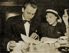 Fletch Markle annotates a script with two-time Oscar-winner Luise Rainer.