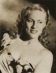 Jan Miner circa 1950