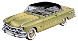 The roll-out of the 1951 Ford was also a participating sponsor for The Big Show