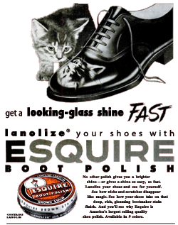 Esquire Boot Polish was yet another of The Scarlet Pimpernel's Tandem Plan sponsors
