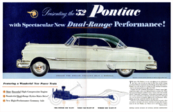 The 1952 Pontiac was one of Barrie Craig's first NBC Tandem Program sponsors