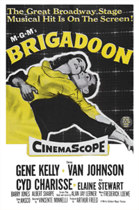 Best of All's tribute to the music of MGM's Brigadoon (1954) was one of several of its salutes to Film versions of popular musical comedies of the era.