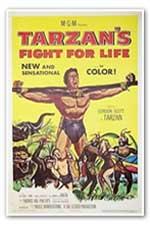 Tarzan fight for life