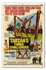 Tarzan and the Three Challenges