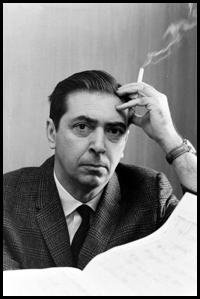 Pulitzer Prize winning composer Norman Dello Joio, ca. 1964 Mr. Dello Joio, one of America's great Master composers, passed away last year in July 2008 at the age of 95.