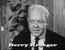 Berry Kroeger as Arthur Jarech in The Case of The Screaming Woman from Perry Mason (1958)