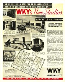 WKY's New Studios (circa 1936)