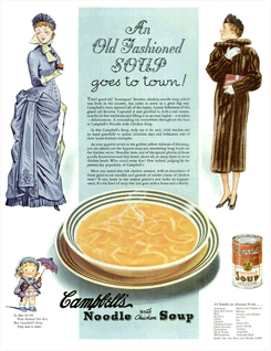 LIFE magazine Campbell's Soup ad from December 1936