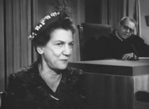 Elvia Allman as Julia Slovak in Perry Mason (1961)