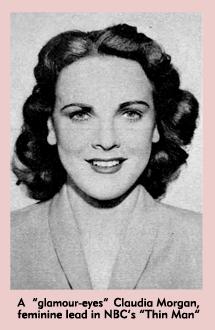 Claudia Morgan featured in Movie Radio Guide of June 1942