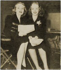 Film legend Marlene Dietrich appeared with her daughter Maria in the 14th Episode of the original canon.