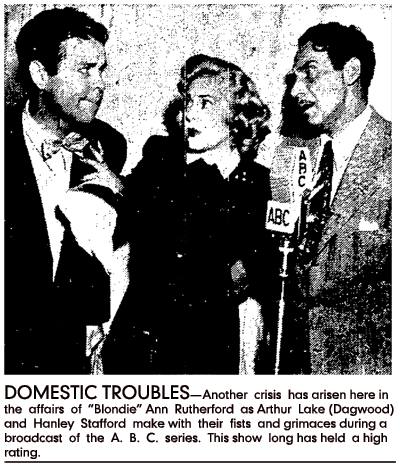 Long Beach Press-Telegram photo caption reads: 'DOMESTIC TROUBLES-Another crisis has arisen here in the affairs of