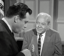 Berry Kroeger as Ernest Wray in The Case of The Lame Canary from Perry Mason (1959)