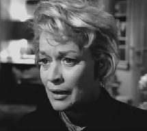 Joan Lovejoy as Nellie Conway in The Case of the Woeful Mourner from Perry Mason circa 1964