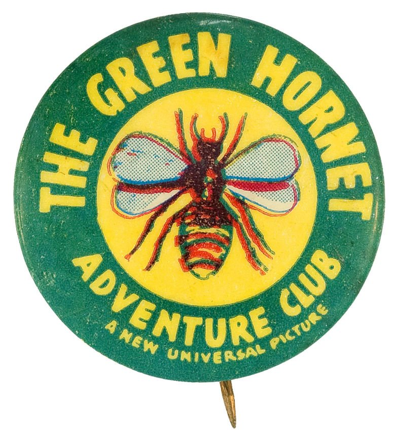 A Green Hornet Adventure Club.