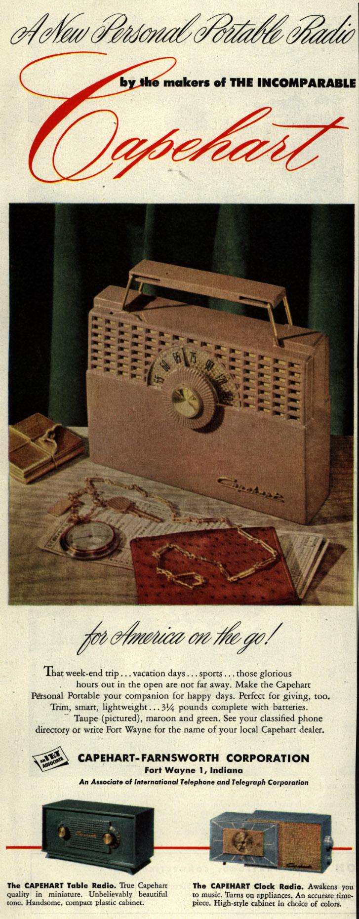 New Personal Portable Radio