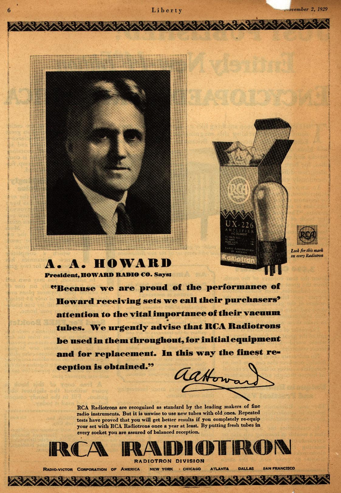 Howard President
