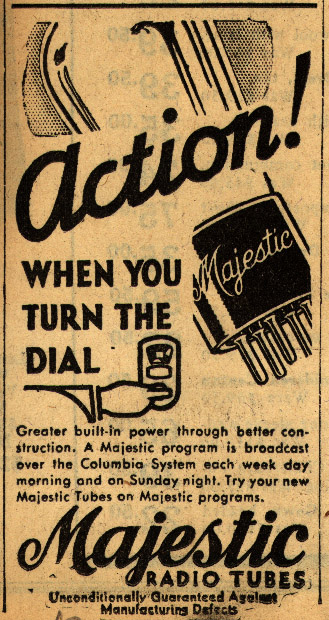 Action when you turn the dial