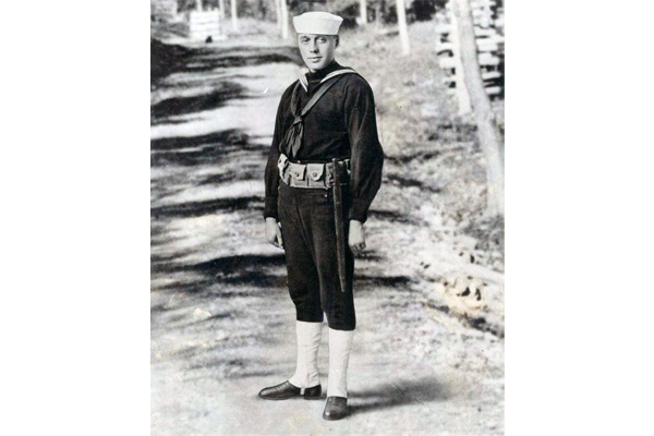 Actor/Comedian S1c Jack Benny US Navy (Served 1917-1918)