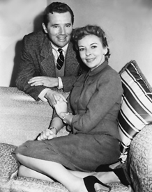 Howard Duff and Ida Lupino, ca. 1952
