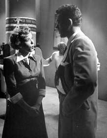 Ida Lupino and Howard Duff in Woman In Hiding (1950)