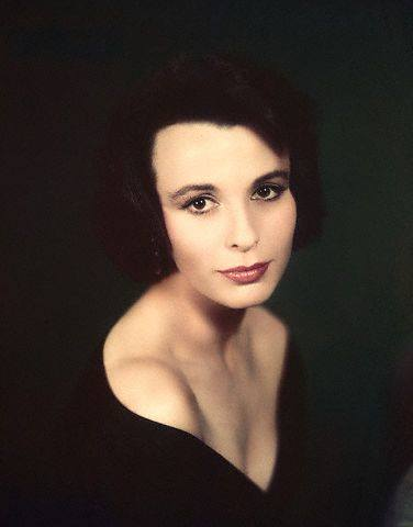 Actress Claire Bloom in the 1950s