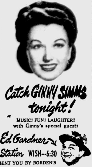 Ginny Simms - Bing Crosby - You'll Never Know