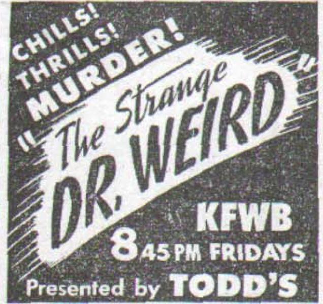 Dr. Weird