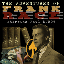 The Adventures of Frank Race mp3 cover art with Paul Dubov