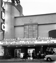 ABC's KECA Playhouse had hosted Jubilee's live performances for the AFRS during the World War II years