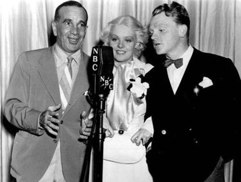 Al Jolson, Alice Faye and James Cagney