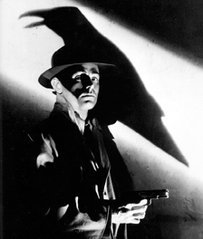 Ladd's break-out role as 'Raven' the psychotic killer from 1942's This Gun for Hire