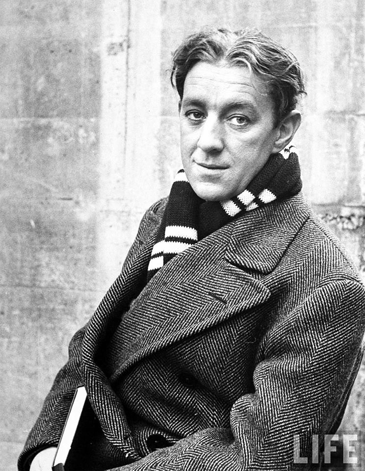 Actor Alec Guinness