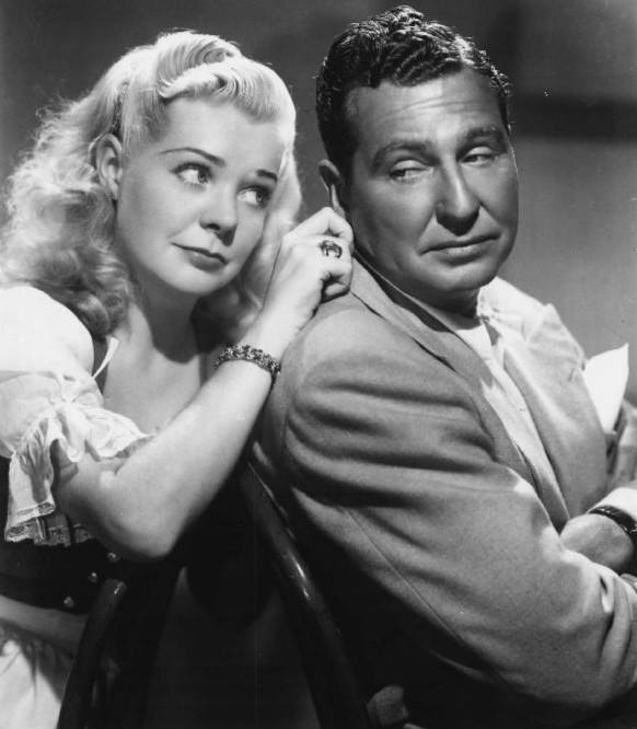 Alice Faye & Phil Harris, 1950